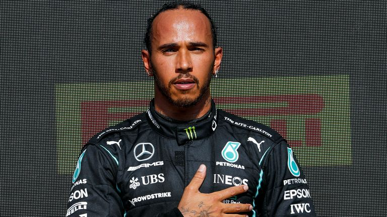 Martin Brundle says the racial abuse aimed at Lewis Hamilton on social media after his British Grand Prix victory is 'totally unacceptable'
