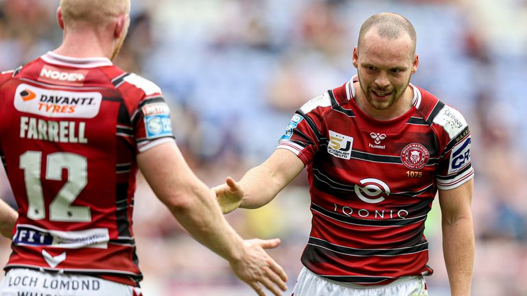 Liam Marshall was denied a try by the video ref, but did score one soon after