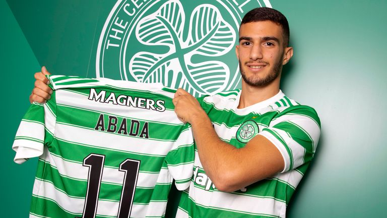 SNS - GLASGOW, SCOTLAND - JULY 14: Celtic unveil new signing Liel Abada at Celtic Park, on July 14, 2021, in Glasgow, Scotland. (Photo by Alan Harvey / SNS Group)