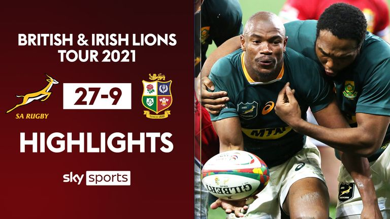 Lions vs South Africa highlights
