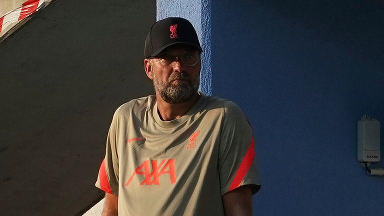 Liverpool boss Jurgen Klopp