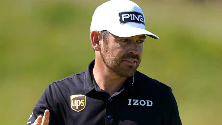Oosthuizen added a 65 to his opening 64 to claim a two-shot lead
