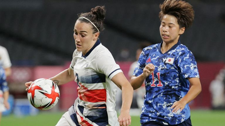 Lucy Bronze has nabbed three assists at the Olympics so far