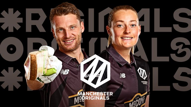 Jos Buttler and Sophie Ecclestone, Manchester Originals, The Hundred