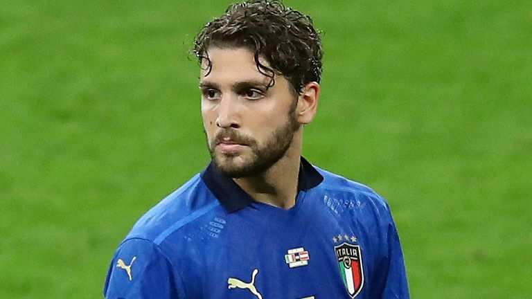 Italy midfielder Manuel Locatelli (AP)