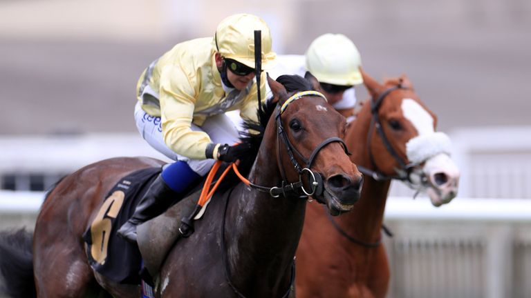 Marco Ghiani rides Final Watch to victory at Newmarket