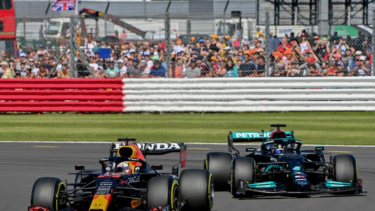 AP - Verstappen and Hamilton