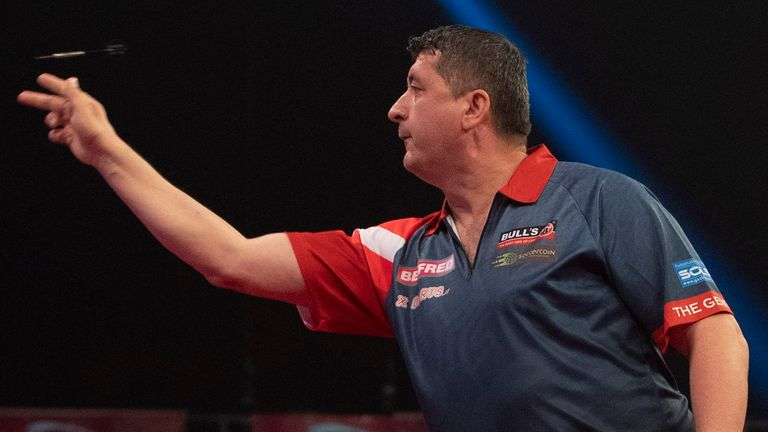 Mensur Suljovic will not be competing in Blackpool