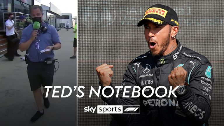Ted Kravitz brings his Notebook to the British GP, as he looks back at a dramatic start to the race at Silverstone.