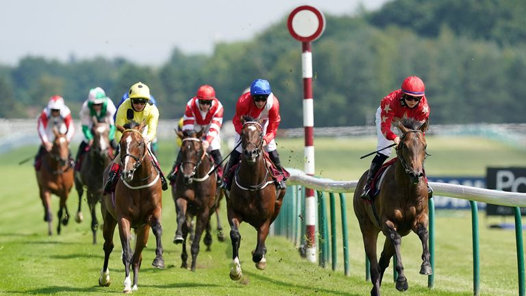 Mr McCann, owned by a group of Liverpool players including Jordan Henderson, wins at Haydock