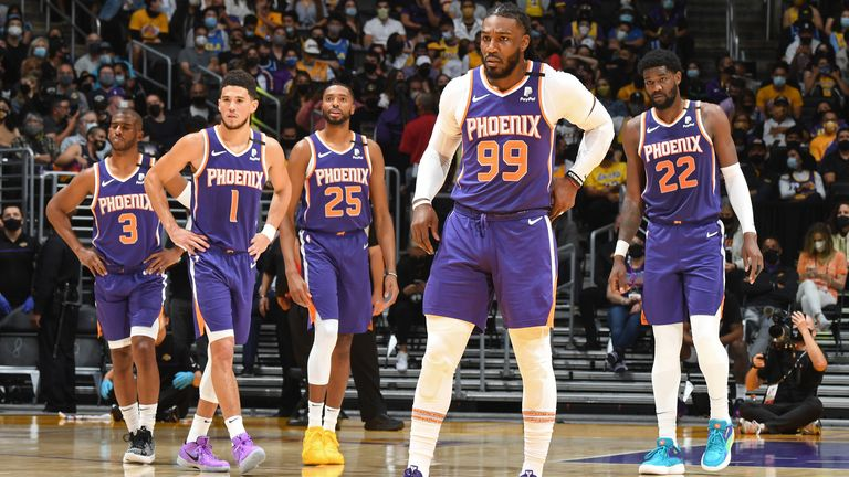 NBA Finals Preview: Meet the Phoenix Suns, worthy conquerers of the Western  Conference | NBA News | Sky Sports