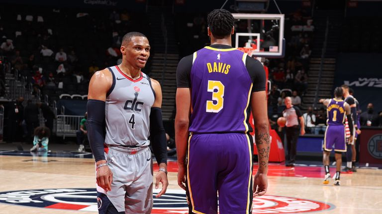 Russell Westbrook would give the Lakers another scoring option alongside All-Stars LeBron James and Anthony Davis