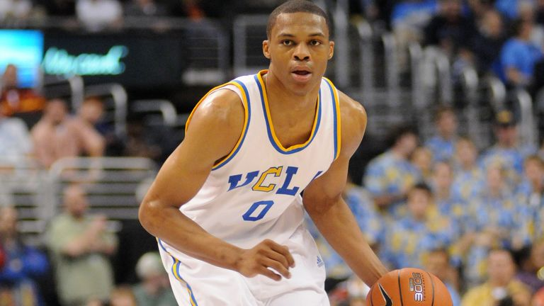 Russell Westbrook playing for UCLA