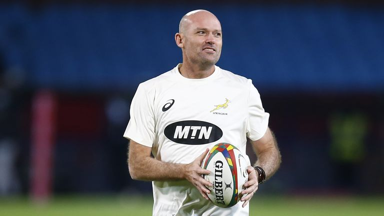 Jacques Nienaber praised the response of his side in victory, but urged the Boks to 'stay humble'