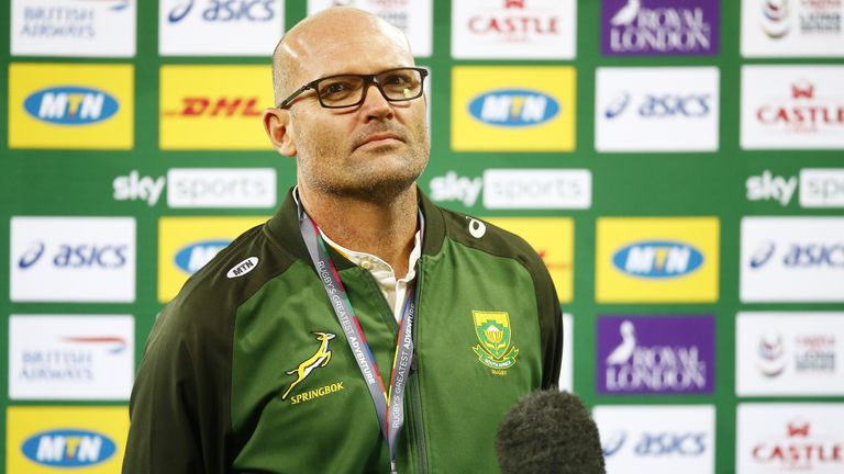 South Africa head coach Jacques Nienaber agreed TMO Marius Jonker was correct to rule out Willie le Roux's try for offside