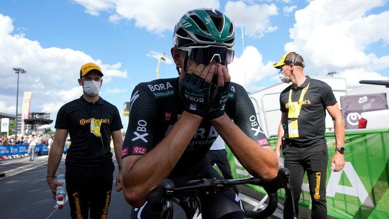 Politt can barely believe it as he wins Stage 12 (AP)