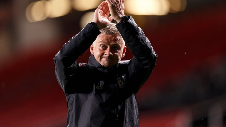 """Ole Gunnar Solskjaer says Man Utd are in a """"good place"""" after """"scrambling"""" late in recent windows"""