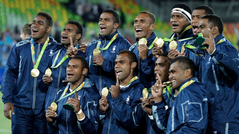 Fiji were crowned champions when rugby sevens appeared at the Olympics for the first time in 2016
