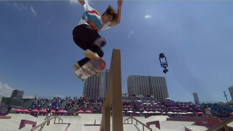 Japan's Yuto Horigome wins Olympics' first ever skateboarding gold on home soil