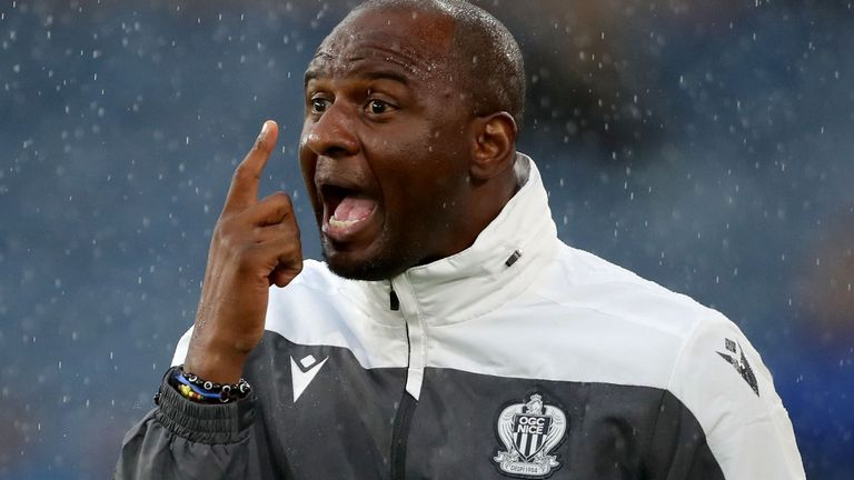 Patrick Vieira has been appointed at Crystal Palace, but it will be the toughest test of his managerial career so far