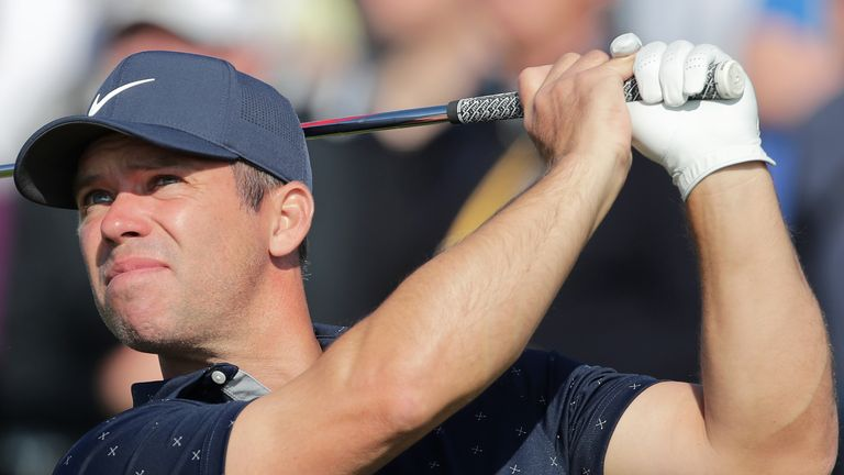 Paul Casey kept a bogey off his card on day one