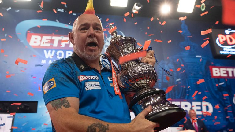 Peter Wright won the World Matchplay (Lawrence Lustig/PDC)