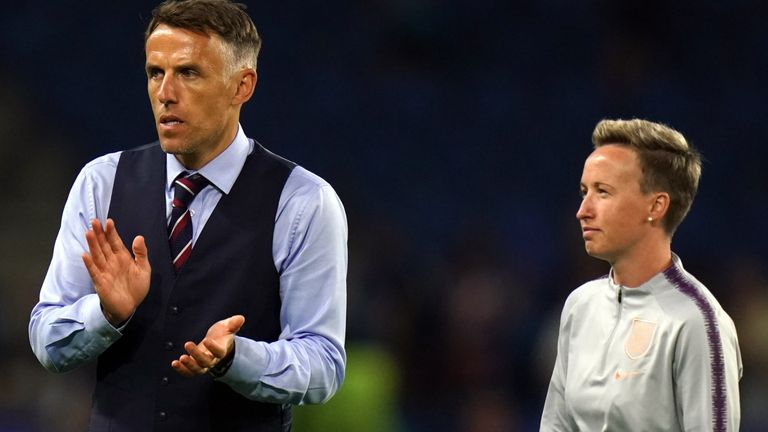 Bev Priestman assisted Phil Neville with England Women for two years