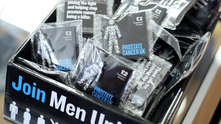 The Prostate Cancer UK badge has been seen on screen and on managers across the Football League since 2018