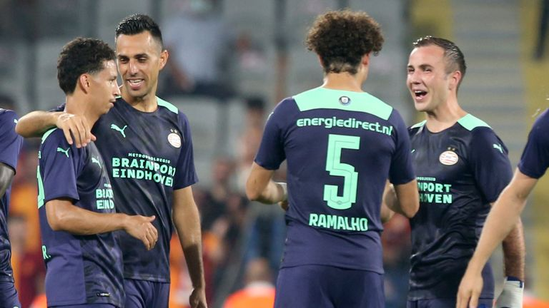 PSV secured a convincing win over Galatasaray