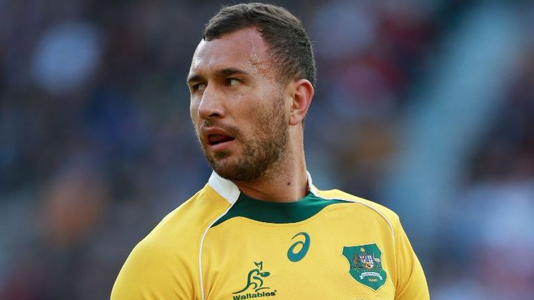 Quade Cooper represented Australia at the 2011 and 2015 World Cups