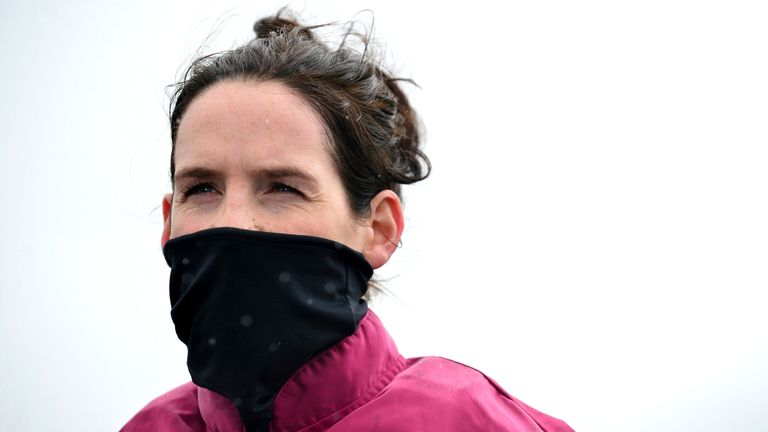 Rachel Blackmore was injured in a fall on Merry Poppins at Killarney