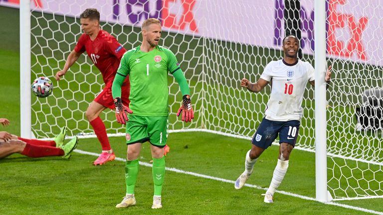 Raheem Sterling forced England's equaliser