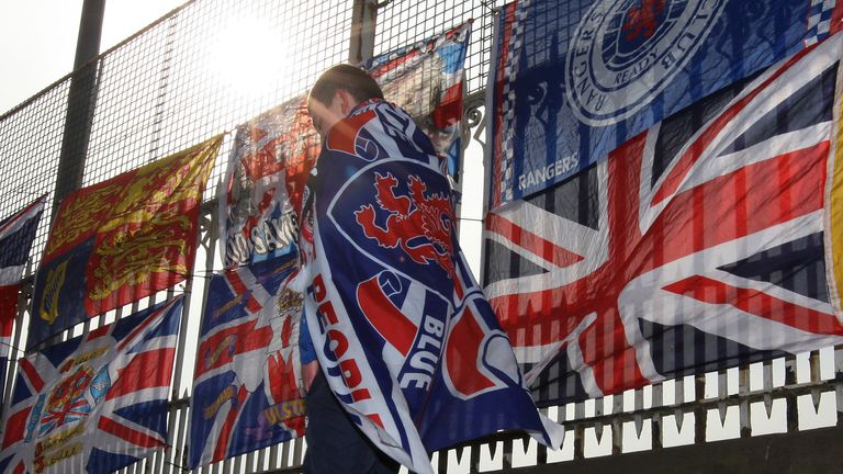 Rangers welcomed 23,000 fans back to Ibrox