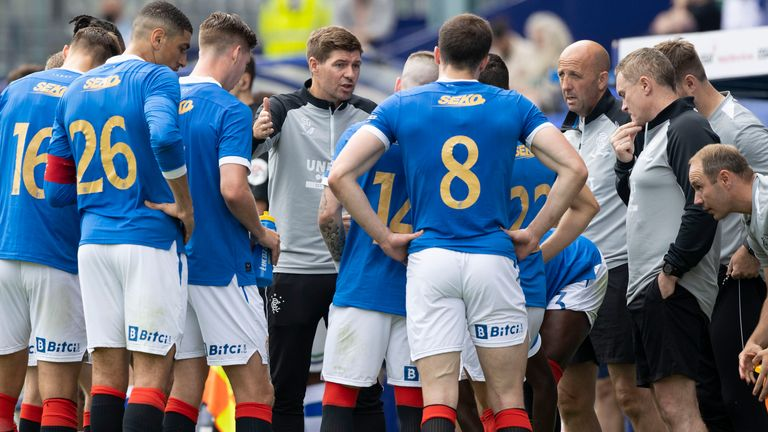 Rangers won the Scottish Premiership for the first time in 10 years last season