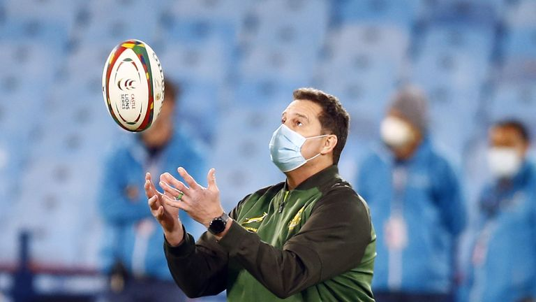 Rassie Erasmus was hoping for a second South Africa A game against the Lions