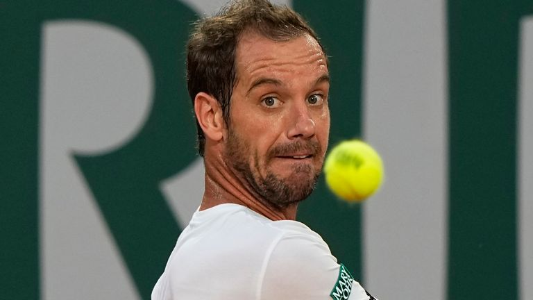 Richard Gasquet's last ATP final was at the Libema Open in the Netherlands in 2018