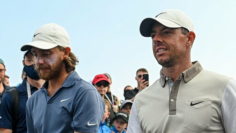 McIlroy was impressed with Tommy Fleetwood, who fired a 67
