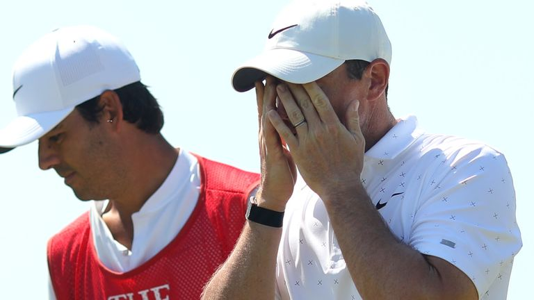 Rory McIlroy finished on level par despite making 17 birdies in four rounds
