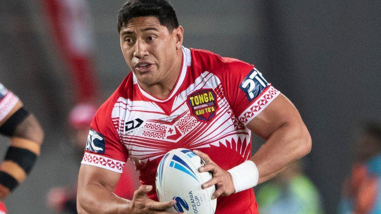 Jason Taumalolo ayudó a Tonga a alcanzar las semifinales de la Copa del Mundo en 2017