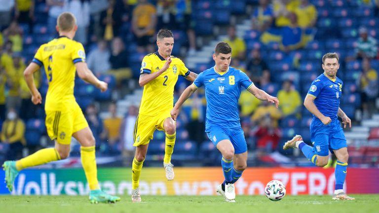 PA - Malinovsky in action against Sweden