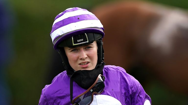 Young jockey Saffie Osborne recently received an abusive and hateful message on social media, prompting a police investigation