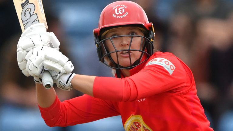 Sarah Taylor starred as Welsh Fire recorded a second consecutive victory in The Hundred