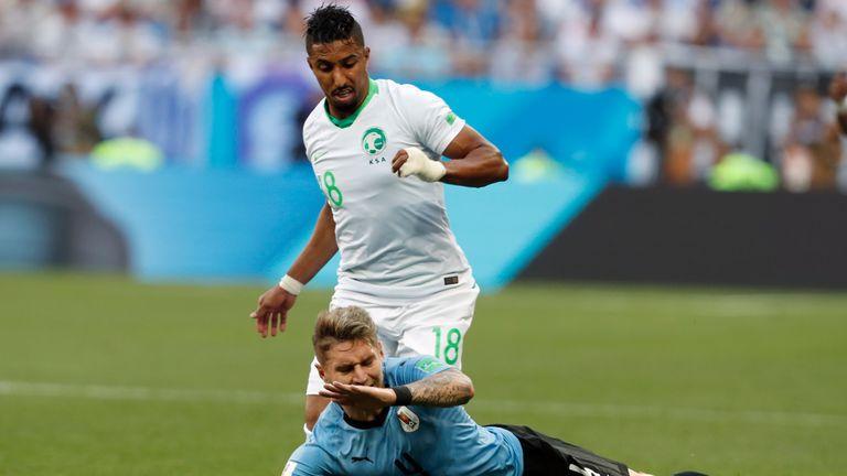 Salem Al-Dawsari was part of Saudi Arabia's 2018 World Cup squad