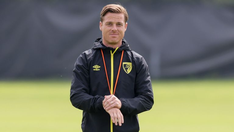 Scott Parker during a Bournemouth pre-season training session