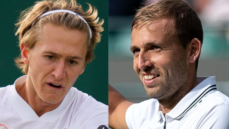 Sebastian Korda and Dan Evans will also be meeting for the first time