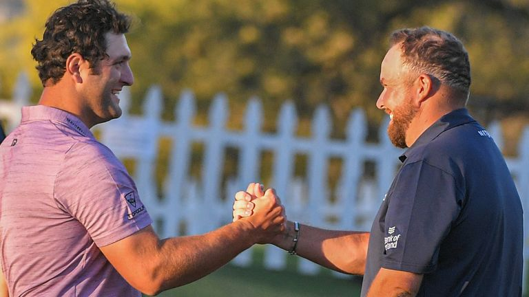 Jon Rahm and Shane Lowry have been grouped together for the first two rounds at The Open