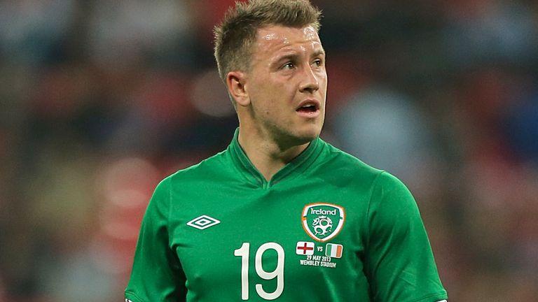 Republic of Ireland forward Simon Cox pictured in 2013