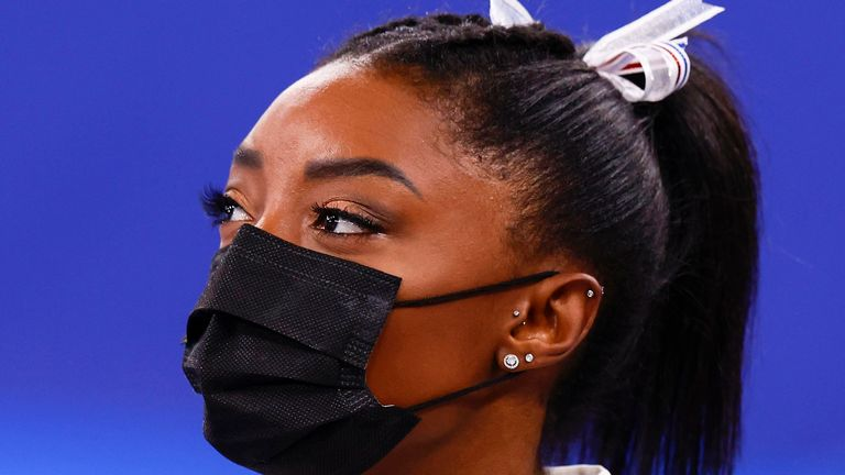 Simone Biles has pulled out of competing in Sunday's individual final