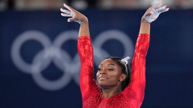 Simone Biles will not take part in Thursday's individual all-around final