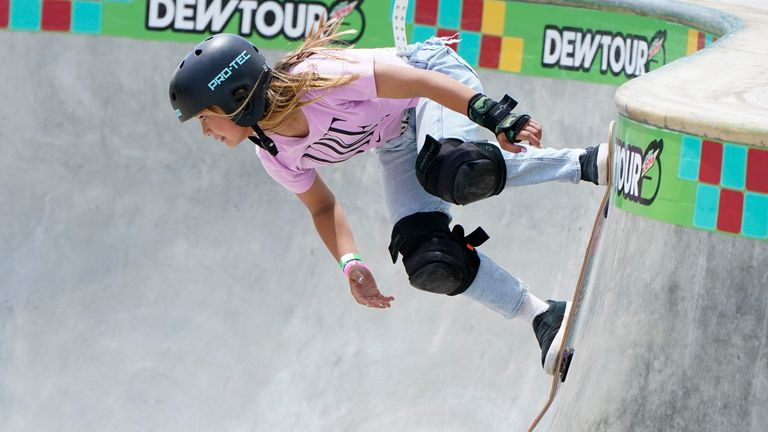 Team GB skateboarder Sky Brown is set to become Britain's youngest-ever summer Olympian in Tokyo